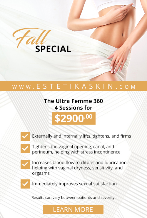 Check out this Fall Vaginal Rejuvenation special!